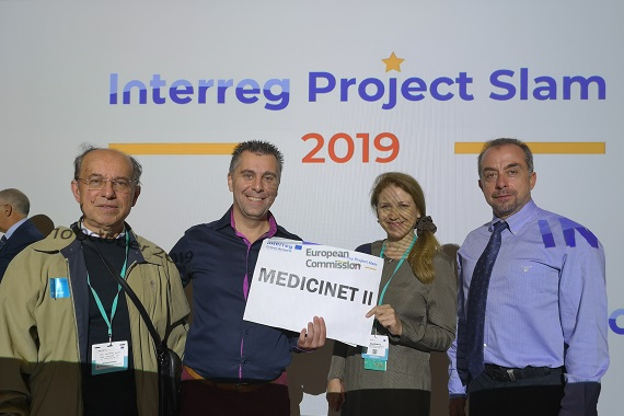 MediciNet II - Interreg Project Slam 2019